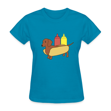 Weenie Dog Shirt for Women