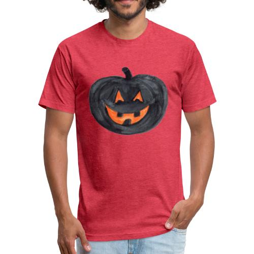 Halloween - Fitted Cotton/Poly T-Shirt by Next Level