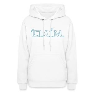 ICLAIM Women's Hooded Sweatshirt - Women's Hoodie