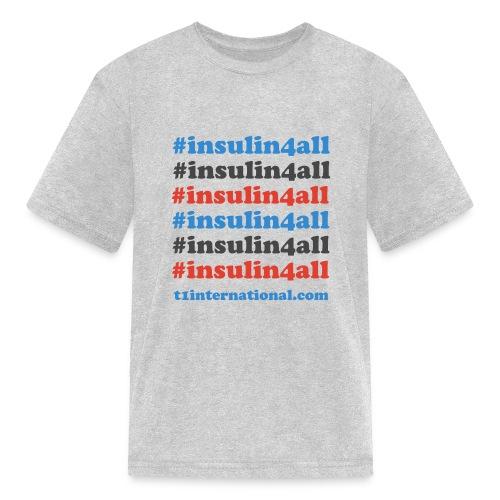 Kid's insulin4all Tshirt - Kids' T-Shirt