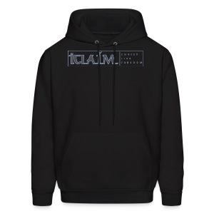 ICLAIM | CHRIST | LIFE | FREEDOM Hooded Sweatshirt - Men's Hoodie