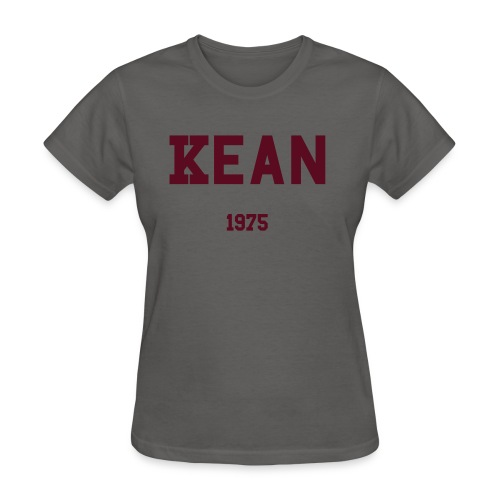 Kean 1975 with RYR on back. - Women's T-Shirt