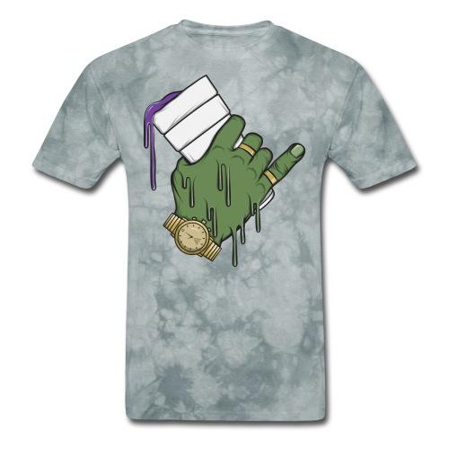 Zombie Cup T-Shirt - Men's T-Shirt