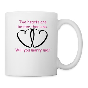 Two hearts are better than one - Coffee/Tea Mug