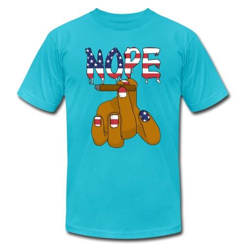 Nope T-shirt - Men's Fine Jersey T-Shirt
