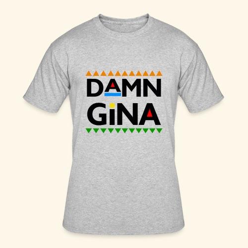 DAMN GINA - Men's 50/50 T-Shirt