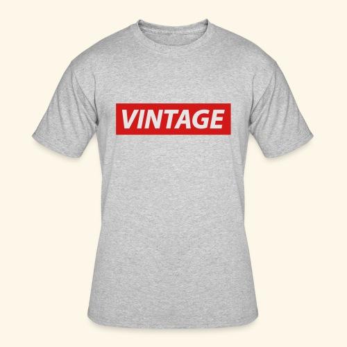 VINTAGE - Men's 50/50 T-Shirt