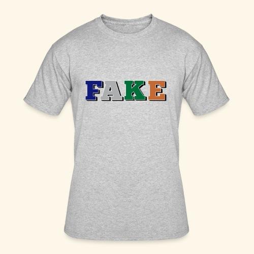 FAKE - Men's 50/50 T-Shirt