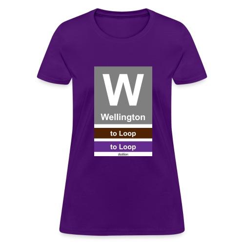 CTA Brown Line - Men's T-Shirt - Women's T-Shirt