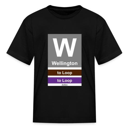 CTA Brown Line - Men's T-Shirt - Kids' T-Shirt