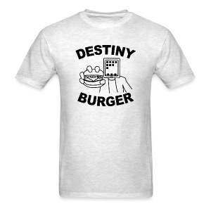 Destiny Burger - Black (Men's) - Men's T-Shirt