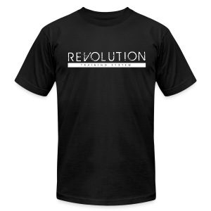 Revolution Training System Clean Logo - Men's T-Shirt by American Apparel
