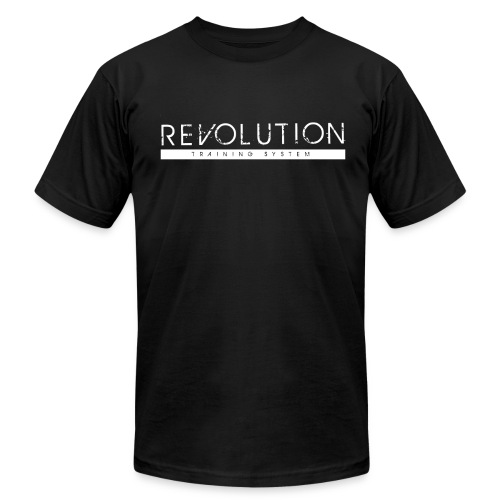 Revolution Training System Clean Logo - Men's Fine Jersey T-Shirt