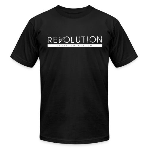 Revolution Training System Clean Logo - Men's Fine Jersey T-Shirt