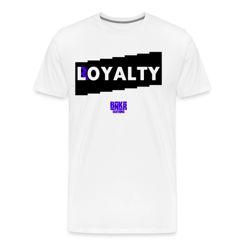 BNKR L/Royalty [Concord] Premium T-Shirt - Men's Premium T-Shirt