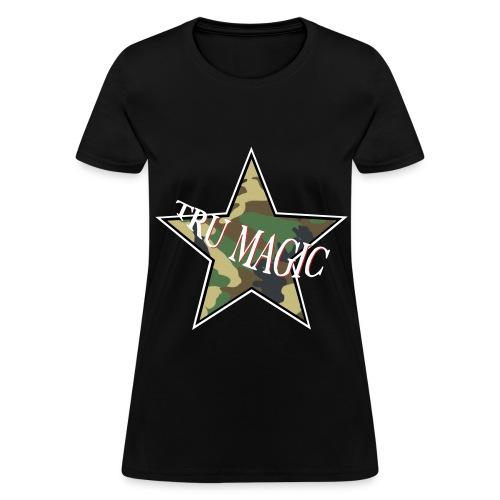 Camo Nia - Women's T-Shirt