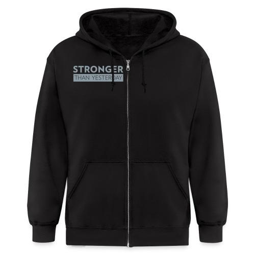 Mens Fitness hoodie - Men's Zip Hoodie