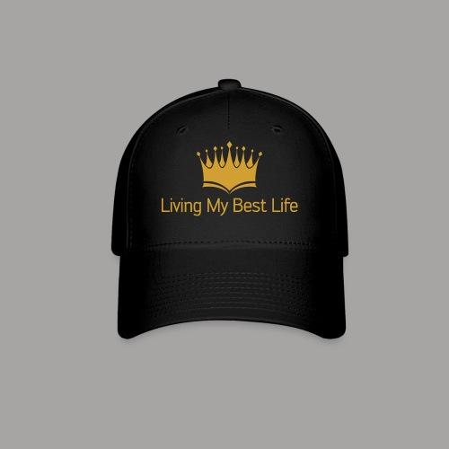 Living My Best Life Cap - Gold - Baseball Cap