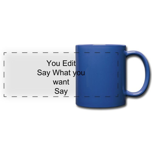 You Edit - Full Color Panoramic Mug