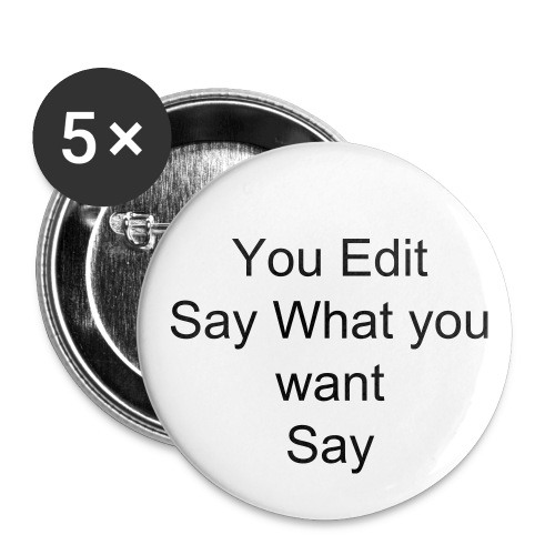 You Edit Button - Large Buttons