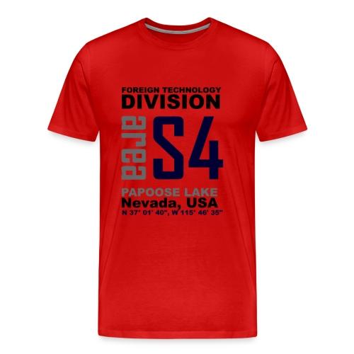 Area S4 Mens Premium T-Shirt - Men's Premium T-Shirt