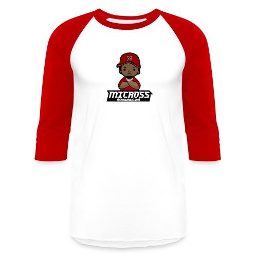 MicMoji Sleeve  - Baseball T-Shirt