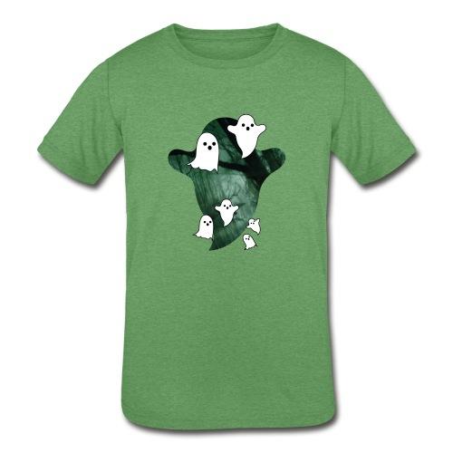 ghost, halloween - Kids' Tri-Blend T-Shirt