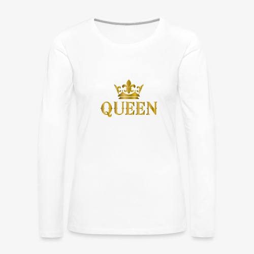 Women Queen Sleeves - Women's Premium Long Sleeve T-Shirt