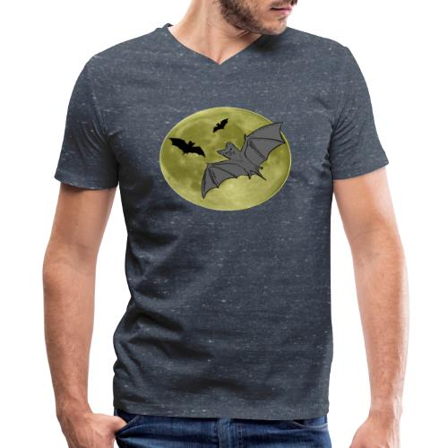 Bats - Men's V-Neck T-Shirt by Canvas