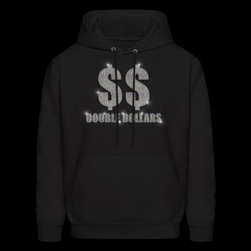 BLACK $$ BLING HOODIE - Men's Hoodie