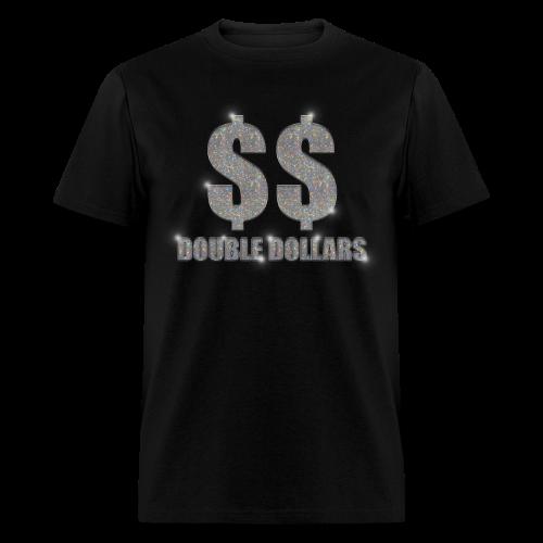 BLACK $$ BLING TEE - Men's T-Shirt