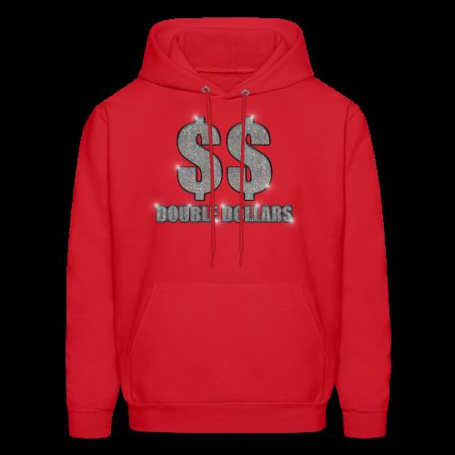 RED $$ BLING HOODIE - Men's Hoodie