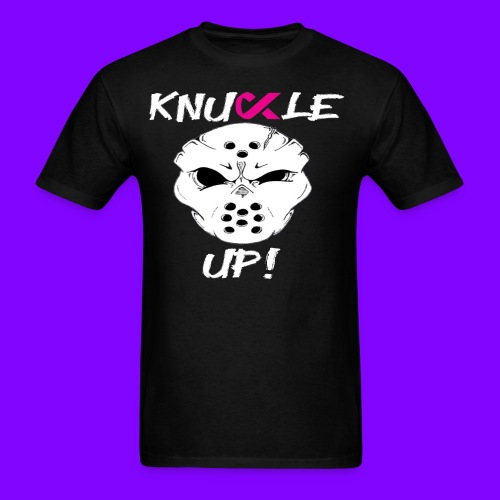 Knuckle Up To Cancer - Men's T-Shirt