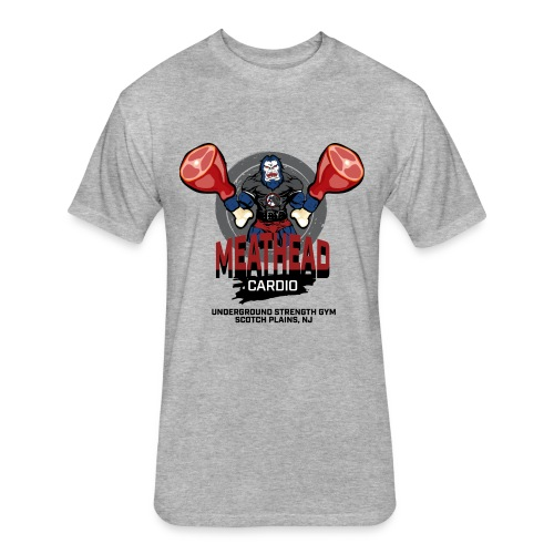 Men's USG Meathead Cardio - Fitted Cotton/Poly T-Shirt by Next Level