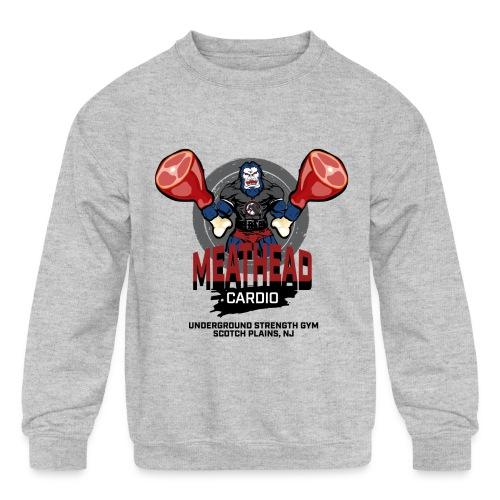Kids Crew - USG Meathead Cardio - Kids' Crewneck Sweatshirt