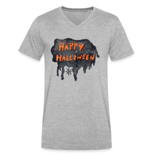 Happy Halloween - Men's V-Neck T-Shirt by Canvas