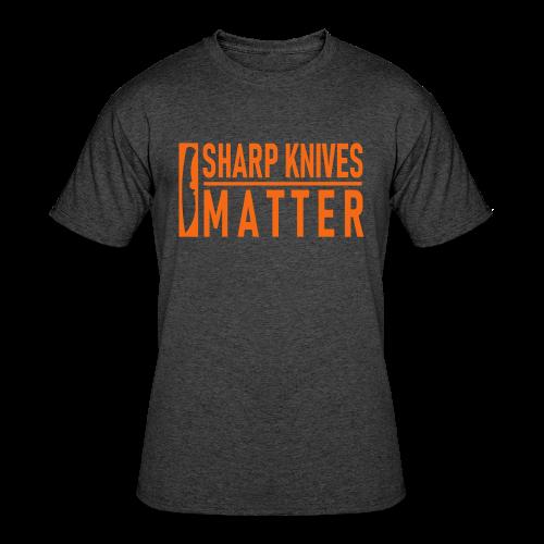 Sharp Knives Matter - Men's Premium Tee - Men's 50/50 T-Shirt