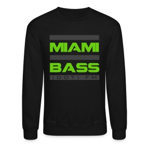Black and Green Sweatshirt - Crewneck Sweatshirt