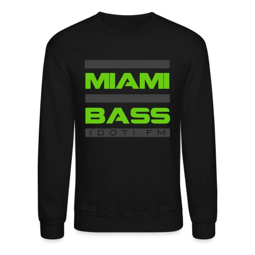 Black and Green Sweatshirt - Crewneck Sweatshirt