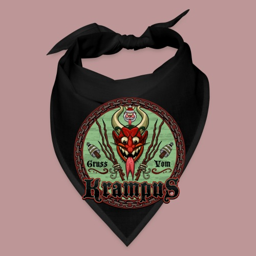 Krampus Greetings Bandana - Bandana