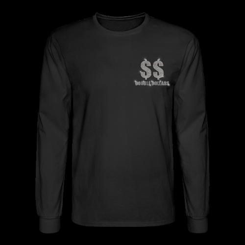 BLACK $$ BLING LONG SLEEVE - Men's Long Sleeve T-Shirt
