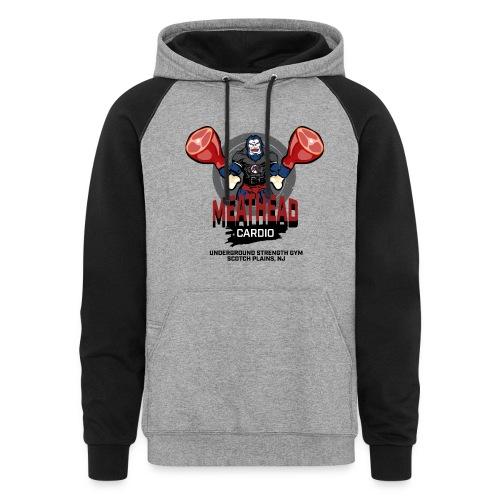 Men's Hoodie - USG Meathead Cardio - Colorblock Hoodie