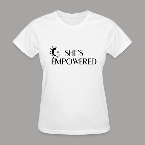 She's Empowered Women's T-Shirt - Women's T-Shirt