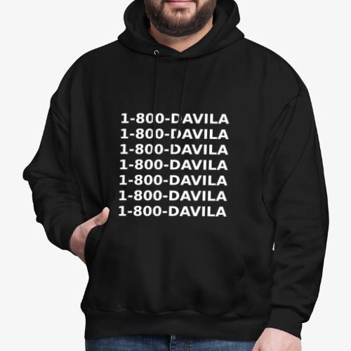1-800-DAVILA - Hoodie - Men's Hoodie