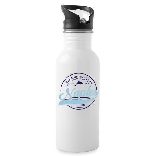 Water Bottle - Blue Script - Water Bottle