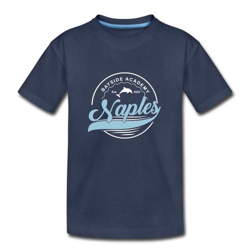 Kids Blue Tee - Script - Kids' Premium T-Shirt