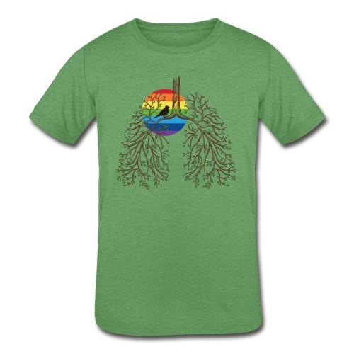 Rainbow Situs Inversus Kids' Tri-Blend - Kids' Tri-Blend T-Shirt