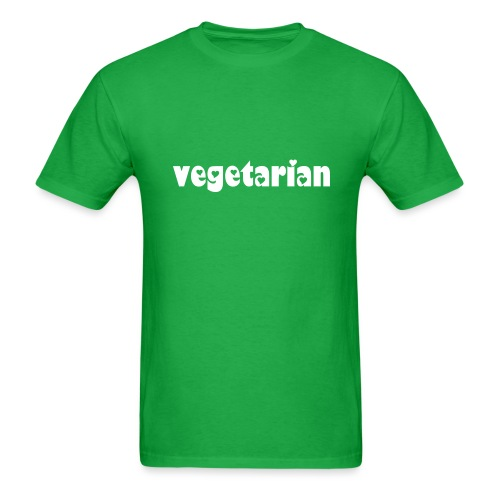 Healed - Vegitarian - Mens - Men's T-Shirt