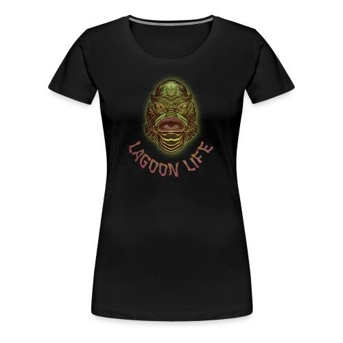 Lagoon Creature Womens Premium Shirt - Women's Premium T-Shirt