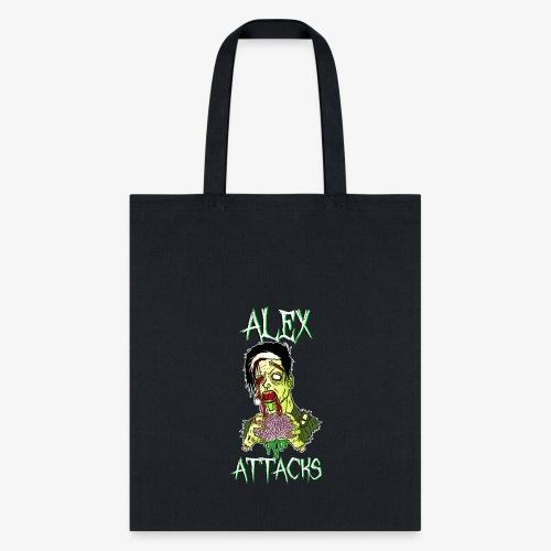 Zombie Eating Brains Tote Bag - Tote Bag